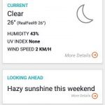 Accuweather current climate