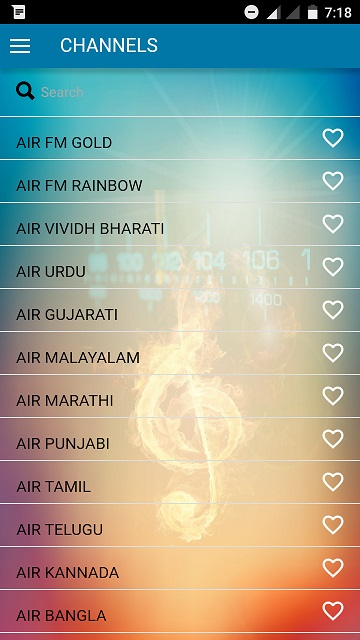 All India Radio Channels