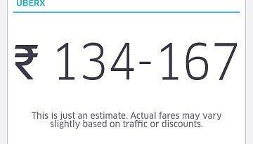 uber : fare