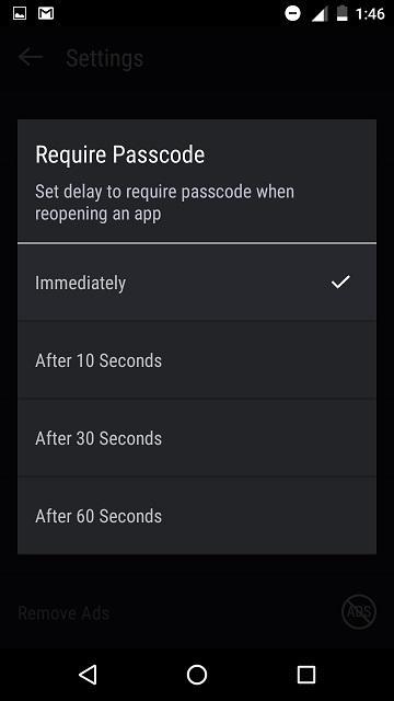 hexlock passcode