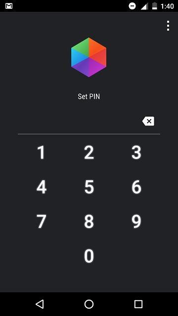 set pin