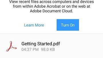 Adobe Acrobat Reader main mobile link