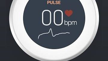 Android heart rate monitor