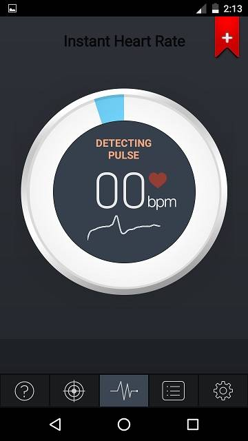 4116c7b035d Android heart rate monitor. google fit heart rate sync. instant heart rate  Android app monitor
