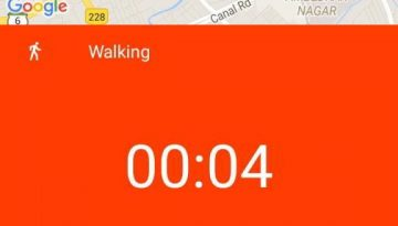 google fit activity