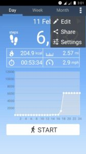 pedometer app android