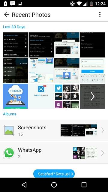 QuickPic gallery : Easy way to manage and backup photos
