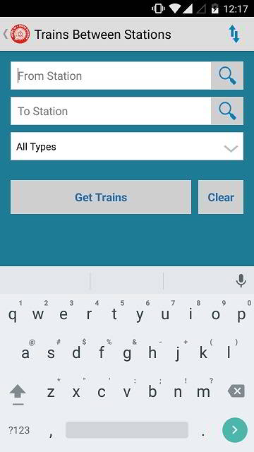 find train between stations