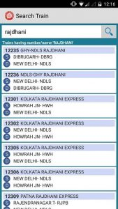 train enquiry Indian railways