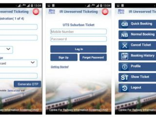 utsonmobile app: book unreserved train tickets on the phone
