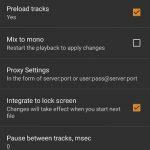 AIMP settings