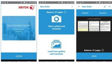Xerox Easy Translator Android App