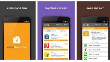 free earn talktime and data app