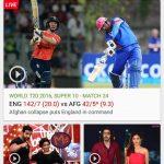 hotstar cricket icc t20 world cup
