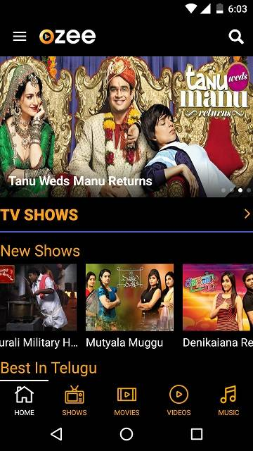 ozee app watch tv shows and movies on phone for free