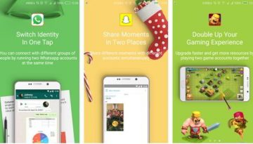 parallel space app for two whatsapp, snapchat accounts on same phone