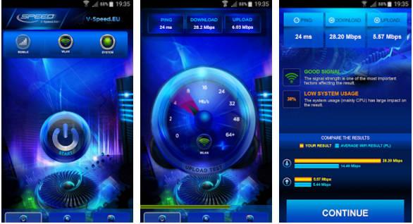 Internet Speed Check app