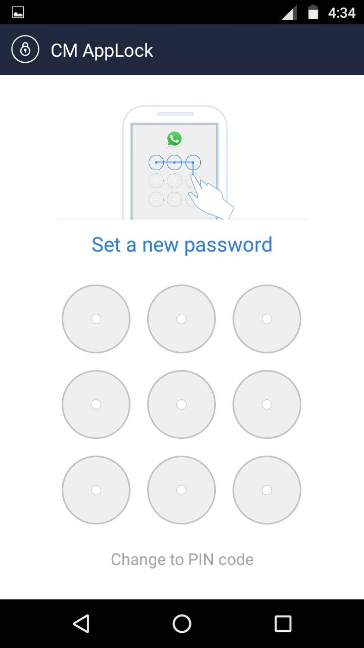 CM Applock review : Android app to protect your personal data