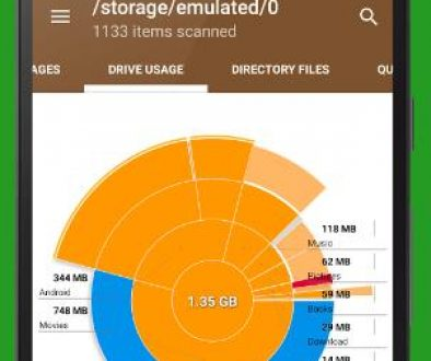 disk usage android