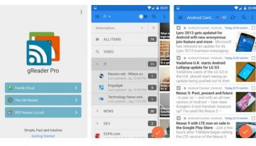gReader rss feed reader feedly alternative app for Android