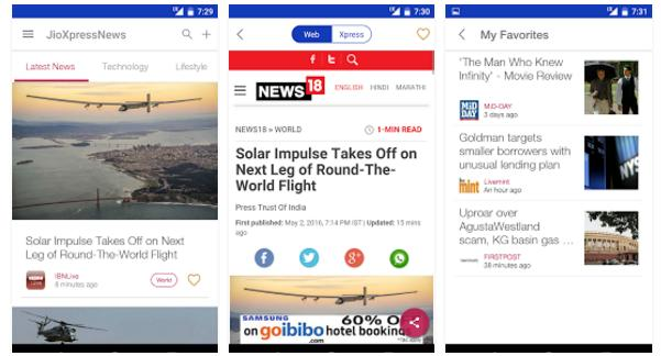 Reliance Jio infocomm launches 8 new apps for Android