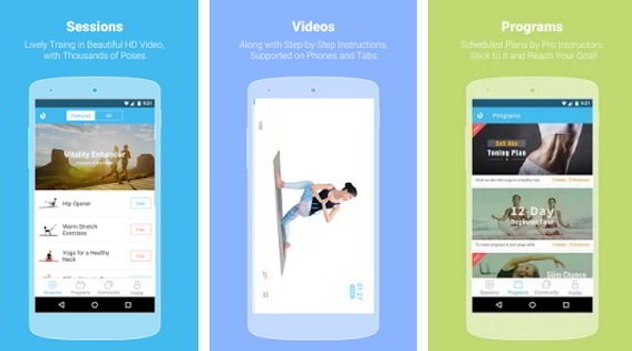 daily yoga app free download for Android