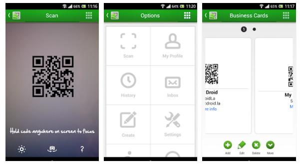 best qr droid scanner for Android