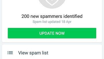 truecaller app spam blocker