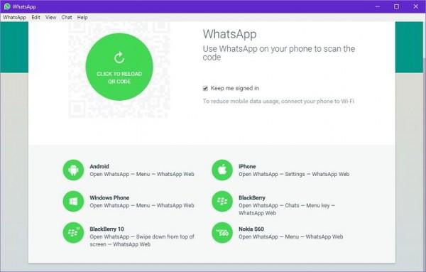 whatsapp desktop pc