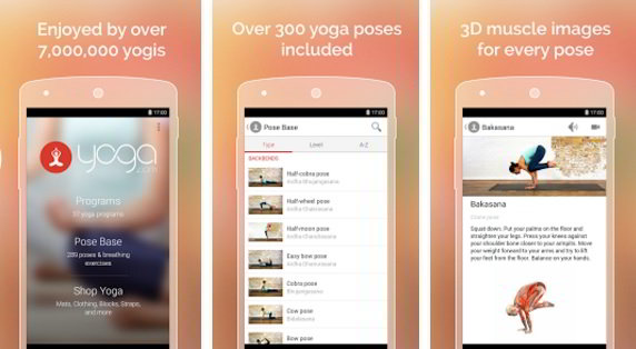 best yoga apps 2016