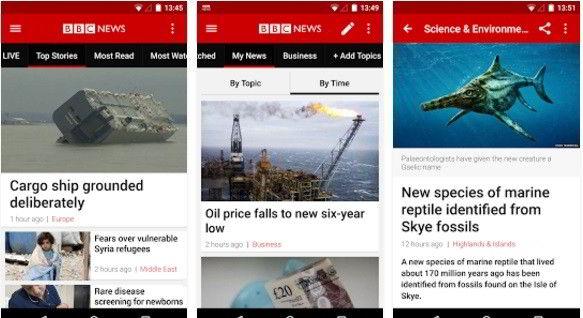 download BBC news app