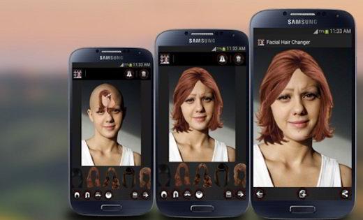 Face hair changer app