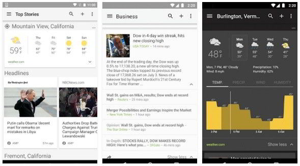 Google News and weather : Best news apps