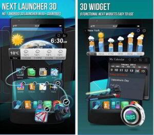 Next Launcher 3D app Download