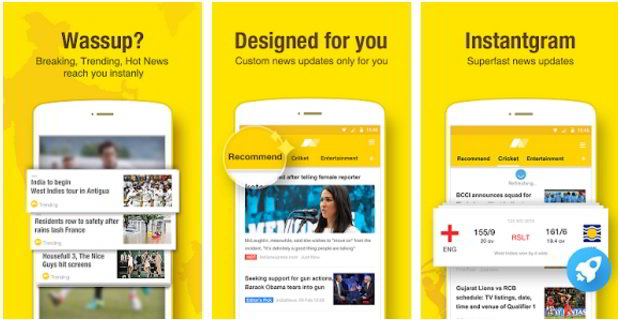 Download UC News app for Android