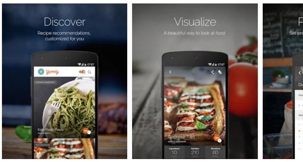 Yummly app free download for Android