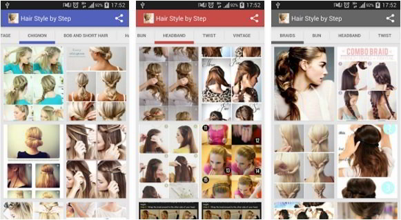 Top 5 Best Hair Style App For Android To Find Latest Haircuts 2017