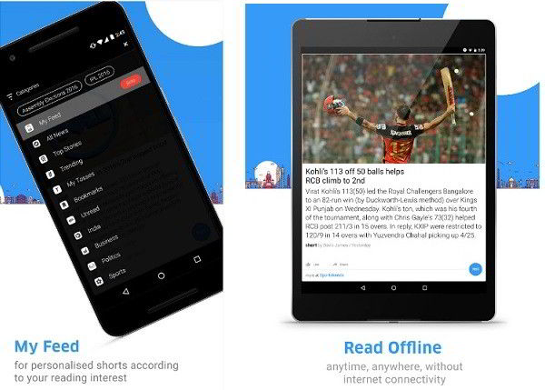 inshorts app download best news app for Android India