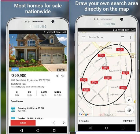 realtor : best real estate apps for Android iPhone iPad