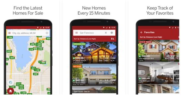 redfin real estate app