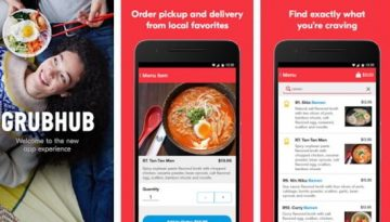 GrubHub : best food ordering apps