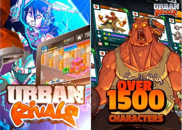 Urban Rivals : games like Clash Royale