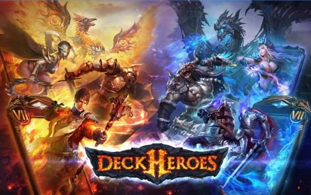 deck heroes : card style games like Clash Royale