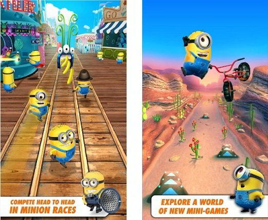 despicable me : top games like subway surfers
