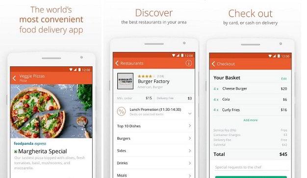 Foodpanda app download: food delivery near me