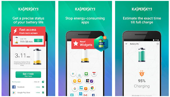 Kaspersky Battery Saver app