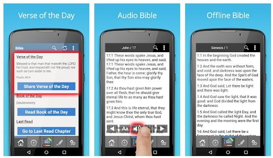 King James Bible app