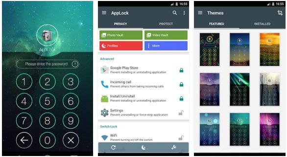 applock - best app locks for Android 2016