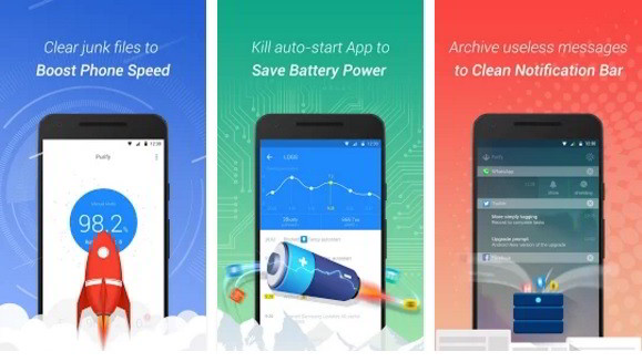 purify best Android battery saver apps 2017
