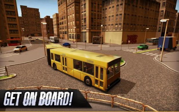 bus simulator 2015 - best simulation games for Android 2017